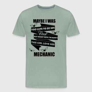 Mechanic Girl Girl Love Mechanic Shirt - Men's Premium T-Shirt