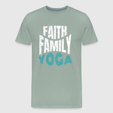 Faith Family Yogs - Men's Premium T-Shirt