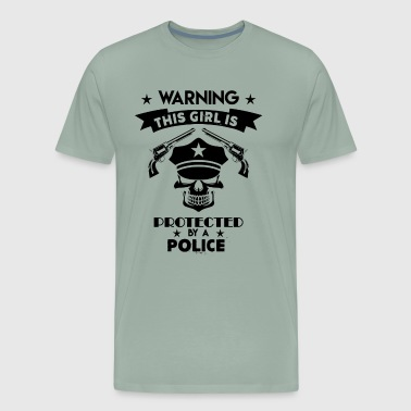 This Girl Is Protected By A Police Protected By A Police Shirt - Men's Premium T-Shirt