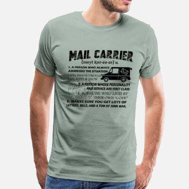 Carrier Mail Carrier Shirt - Mail Carrier Love T shirt - Men's Premium T-Shirt