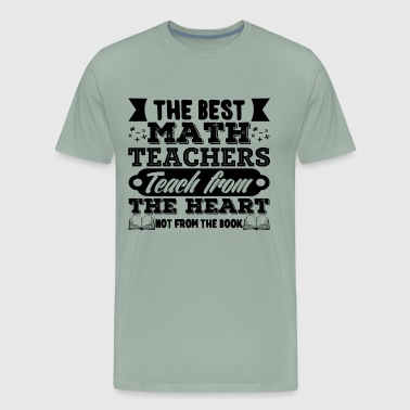Best Math Teacher Shirt - Men's Premium T-Shirt