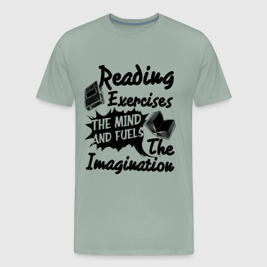 Reading Exercises The Imagination Shirt - Men's Premium T-Shirt