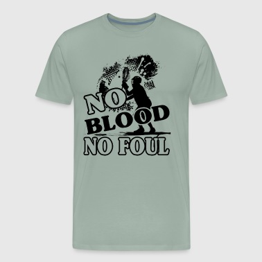 Lacrosse No Blood No Foul Shirt - Men's Premium T-Shirt