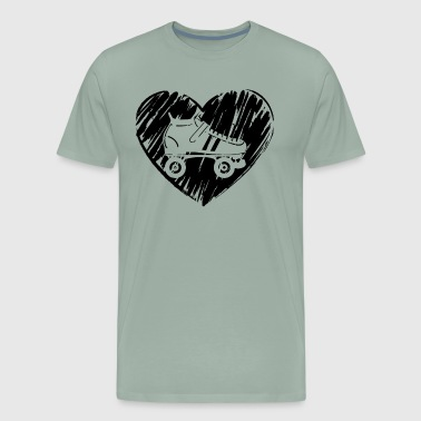 Roller Derby Love Shirt - Men's Premium T-Shirt