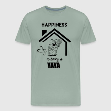 Happiness Is Being A Yaya Shirt - Men's Premium T-Shirt