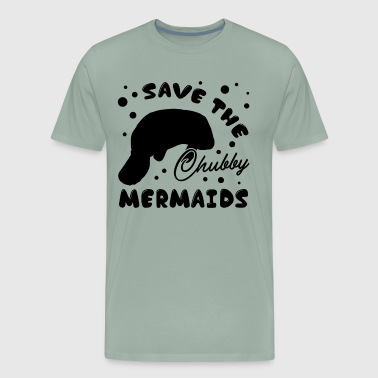 Save The Chubby Manatee Shirt - Men's Premium T-Shirt
