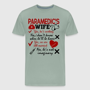 Paramedic's Wife - Men's Premium T-Shirt