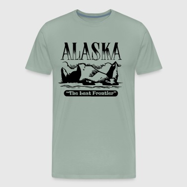 Alaska The Last Frontier Shirt - Men's Premium T-Shirt