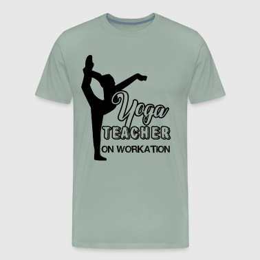 Yoga Teacher Work Shirt - Men's Premium T-Shirt