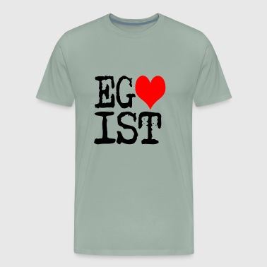 Egoist Egoist Red Heart - Men's Premium T-Shirt
