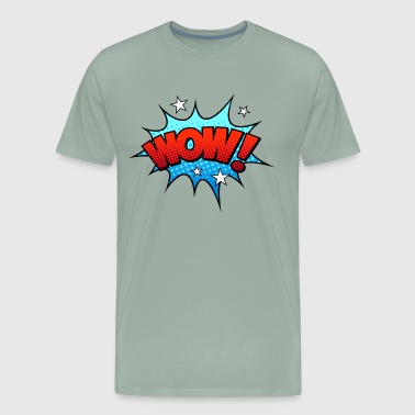 Comic WOW! - Men's Premium T-Shirt
