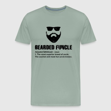 Uncle Funcle T-Shirt Present Gift Birthday Funny Idea - Men's Premium T-Shirt