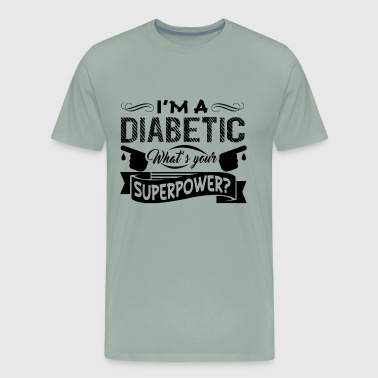 Diabetic Clothing Diabetic Shirt - Men's Premium T-Shirt