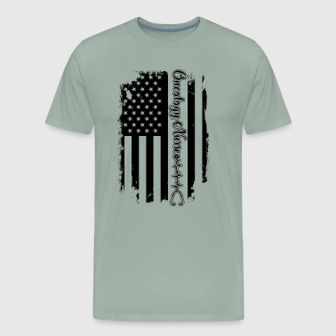 Nurse Flag Oncology Nurse Flag Shirt - Men's Premium T-Shirt