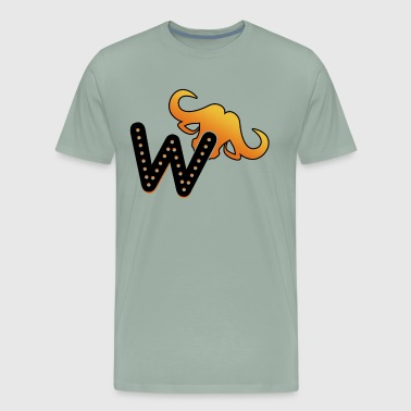 W Is For Water Buffalo Shirt - Men's Premium T-Shirt