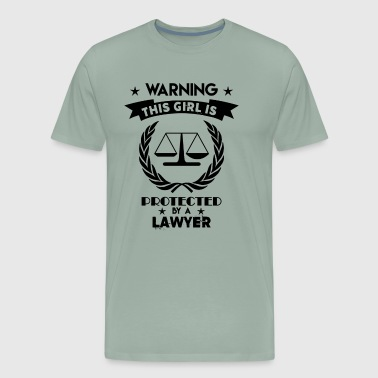 This Girl Lawyer Shirt - Men's Premium T-Shirt