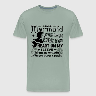 Mermaid Shirt - I Am A Mermaid T shirt - Men's Premium T-Shirt