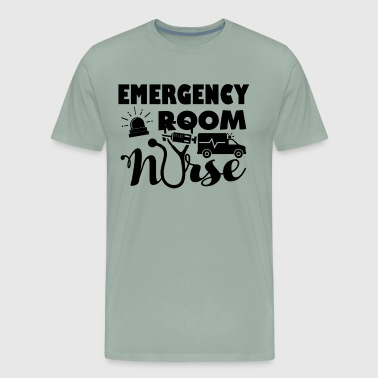 Emergency Room Nurse Shirt - Men's Premium T-Shirt