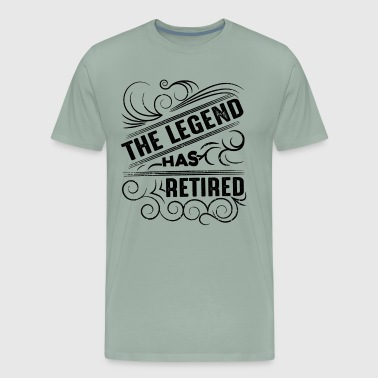 Retirement Legend Has Retired Shirt - Men's Premium T-Shirt