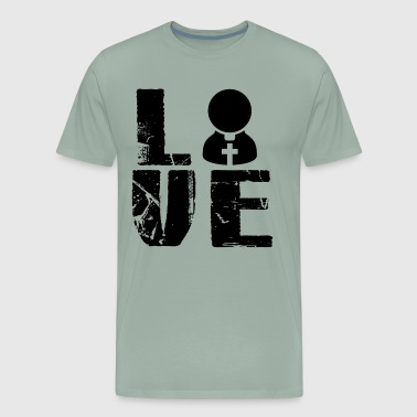 Pastor Love T Shirt - Men's Premium T-Shirt