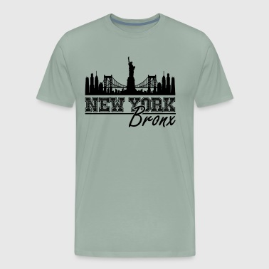 Bronx Shirt - New York Bronx T Shirt - Men's Premium T-Shirt
