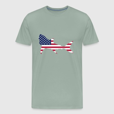 Fish Flag - Men's Premium T-Shirt