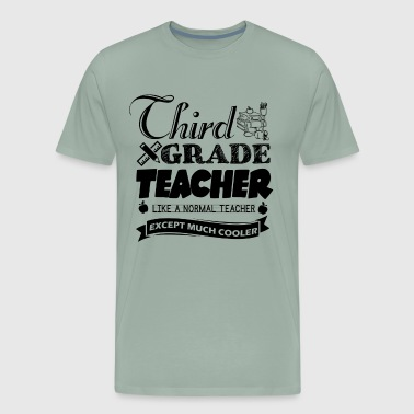 Third Grade Teacher Shirt - Men's Premium T-Shirt
