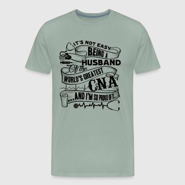 Being CNA Husband Heartbeat Shirt - Men's Premium T-Shirt