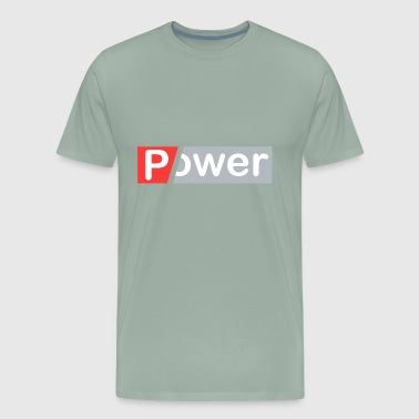 Power Shirt in Blue - Men's Premium T-Shirt