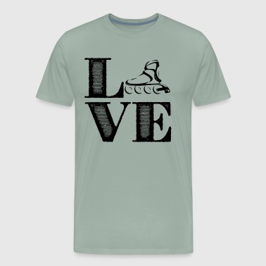 Roller Derby Love Shirts - Men's Premium T-Shirt