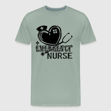 Love Emergency Nurse Shirt - Men's Premium T-Shirt
