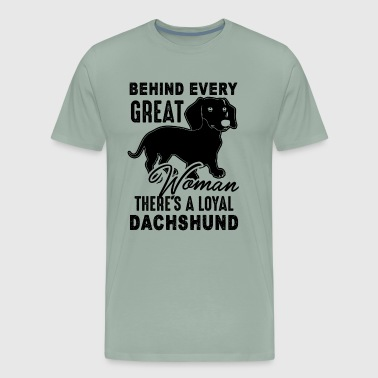 Proud Dachshund Owner Shirt - Men's Premium T-Shirt