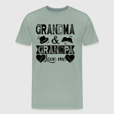 Grandma And Grandpa Love Me - Men's Premium T-Shirt