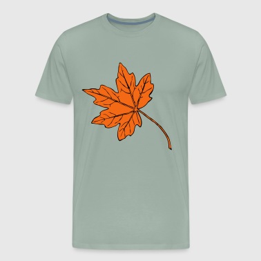Big maple leaf - Men's Premium T-Shirt