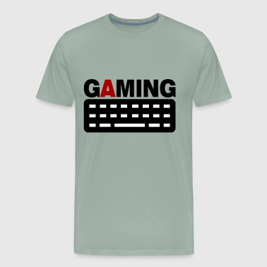 gaming keyboard pc gamer - Men's Premium T-Shirt