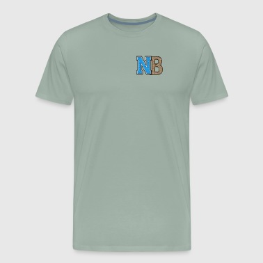 Nb nb logo - Men's Premium T-Shirt