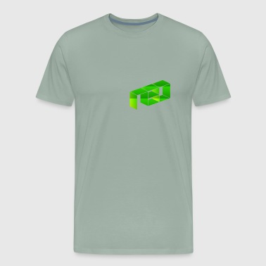 Neo NEO Green Logo - Men's Premium T-Shirt