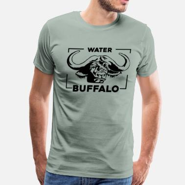 Buffaloes Water Buffalo Lover Shirt - Men's Premium T-Shirt