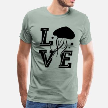Jellyfish Love Jellyfish Shirt - Men's Premium T-Shirt
