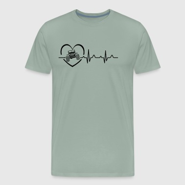 Jeep Heartbeat Shirt - Men's Premium T-Shirt
