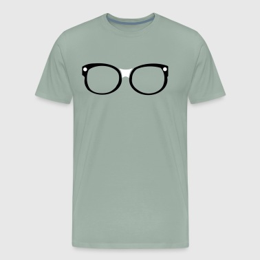 Frame Eyeglass - Men's Premium T-Shirt