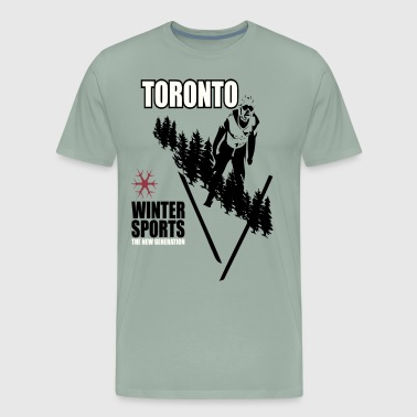 winter sports - Men's Premium T-Shirt