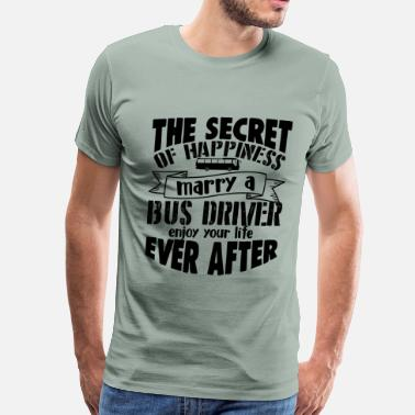Train Driver Marry A Bus Driver Shirt - Men's Premium T-Shirt