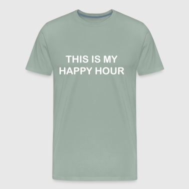 This is my happy hour - Men's Premium T-Shirt