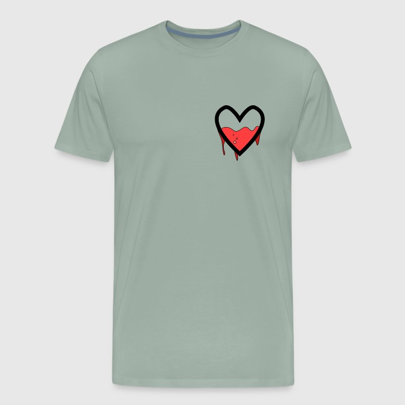 Leaking Heart - Men's Premium T-Shirt