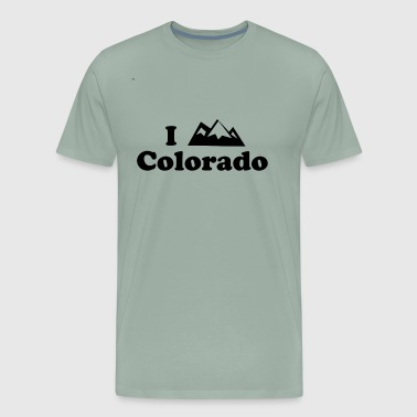 colorado mountain - Men's Premium T-Shirt