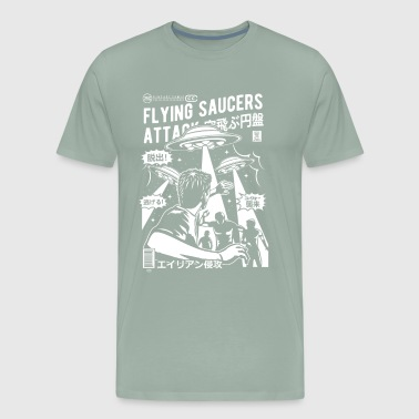 Flying Saucer Flying Saucer Attack - Men's Premium T-Shirt