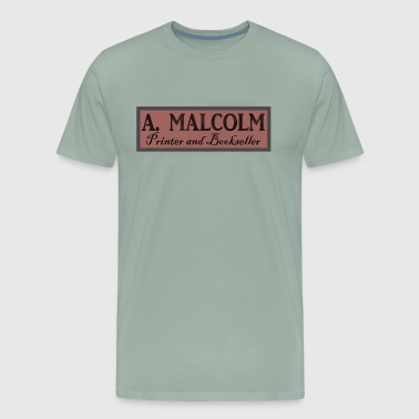 Outlander Outlander A Malcolm Printer and Bookseller - Men's Premium T-Shirt