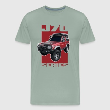 J70 Series Toyota Landcruiser - Men's Premium T-Shirt
