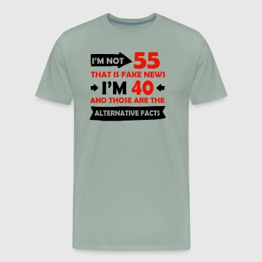 55 Years 55 Years Brithday Designs - Men's Premium T-Shirt
